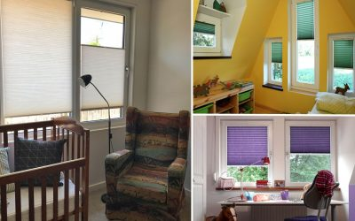 What to look for when choosing blinds for your child's room.